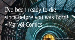 Favorite Marvel Comics Quotes