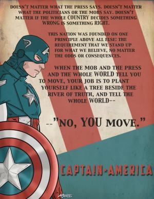 Captain America - America Quote