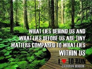 Great quote! REPINNED by www.halfmarathonclub.com