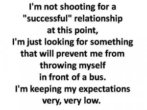Low expectations.