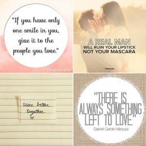 Love Quotes on Instagram