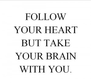 brain, cute, girly, heart, love, quotes