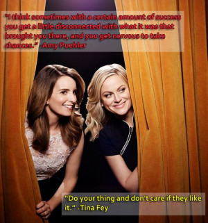 Let the Wise Words of Amy Poehler and Tina Fey Inspire Your New Year