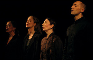 Meredith Monk and Vocal Ensemble performing at University of Virgina ...