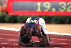 ... time gold medal winner Michael Johnson picks his top Olympic athletes