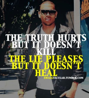 Chris Brown Swag Quotes