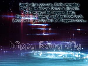 rainy day quotes | Rainy day