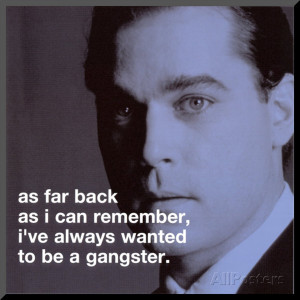 Goodfellas Henry Hill Mounted Print