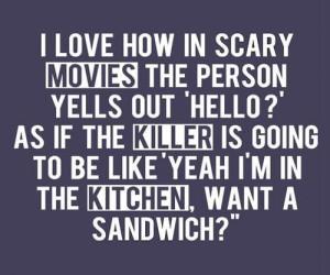 funny, haha, hello, joke, killer, love, movie, sandwich, silly, text