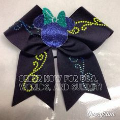 Nationals, Worlds, Summit Cheer Bow $16 #cheer #cheerbow More