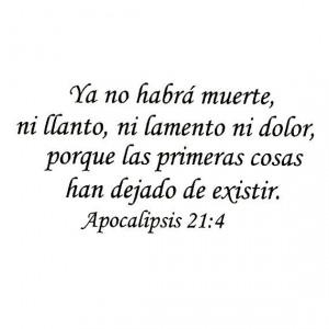 Bible Verse Spanish