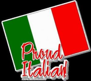 Proud Italian