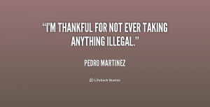 thankful for not ever taking anything illegal.""