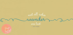 Wander quote #1
