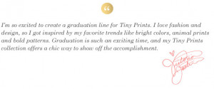 Victoria Justice Partners with Tiny Prints for Graduation