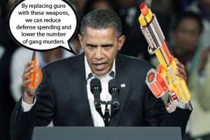Obama Posts Skeet Shooting...