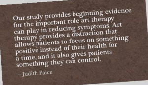 ... Important role Art therapy can play in reducing Symptoms ~ Art Quote