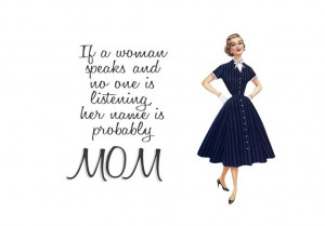 Retro Mom Quotes | Quirky Quotes by VintageJennie at Etsy.com ...