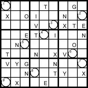Magic Word Square