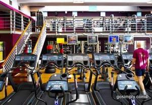 Marriott Windsor Hotel gymnasium