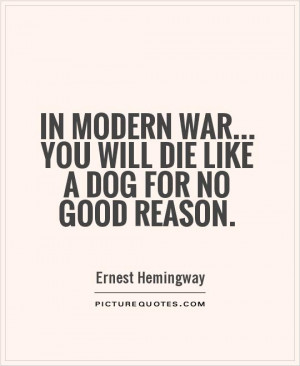 Good War Quotes