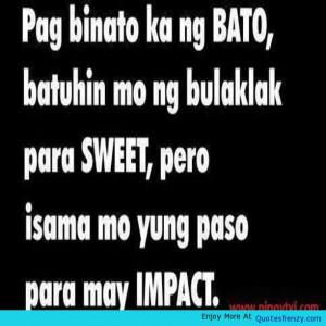 Banat Pinoyquotes Pagibig Love Tagalogquotes Tagalog Tama Quote