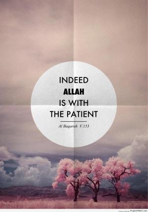 Quran 2-153 - Surat al-Baqarah - Islamic Quotes About Patience (Sabr ...