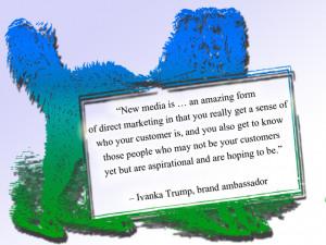 social media quotes Ivanka Trump