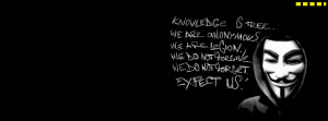 We Are Anonymous Facebook Cover