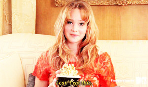 The 25 Best Jennifer Lawrence Quotes Of 2012. I wish I was her…