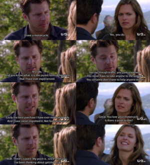 Psych quote of Shawn and Juliet. They are so cute together and this ...