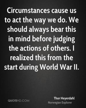 Thor Heyerdahl War Quotes