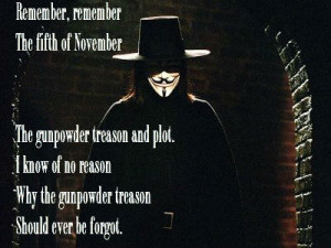 For Vendetta Quotes Remember Remember The 5th Of November