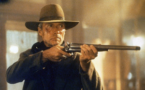 ... as gunslinger William Munny in the 1992 Oscar-winning film Unforgiven
