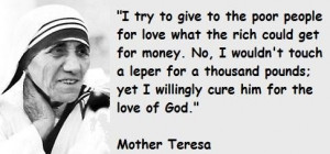 Mother teresa famous quotes 1