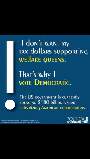 The true 'welfare queens'