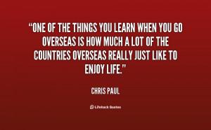 Chris Paul Quotes