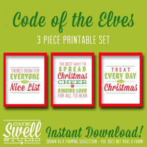 Code of the Elves 8x10