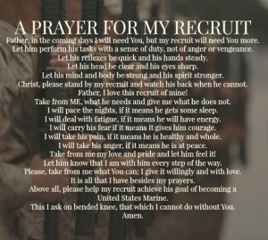 Marine Bootcamps Quotes, Marine Corps Quotes, Marine Recruitment Mom ...