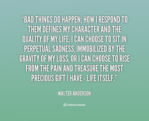 Why Bad Things Happen Quotes