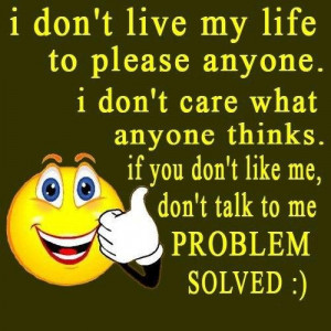 dont live my life to please anyone image quotes and sayings