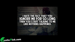 The Fact by unknown Picture Quotes