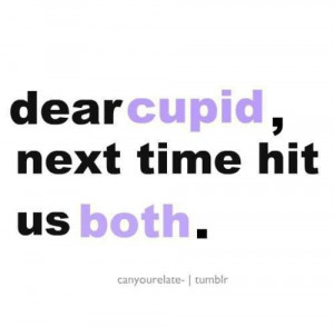 broken, cupid, him, love, quotes, sad, together, us, you