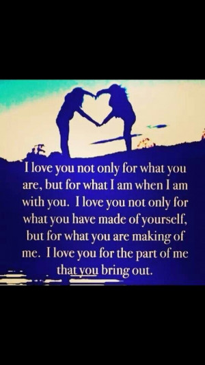 love everything about you babe!