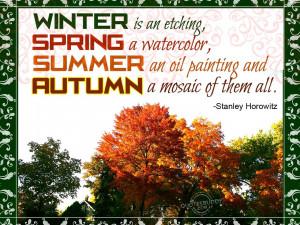 Autumn Inspirational Quotes. QuotesGram