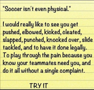 Girls Soccer Quotes Soccer quotes