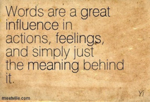 shut off from negative influences to use words carefully with kids and ...