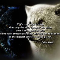 Lone Wolf Sayings and Quotes