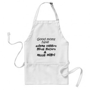 Funny quotes gifts unique Mothers Day gift aprons