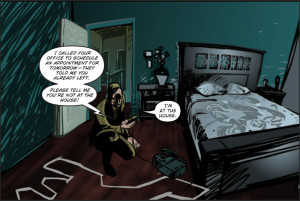 ... News > News > First Five Pages of New PARANORMAL ACTIVITY Comic Debuts